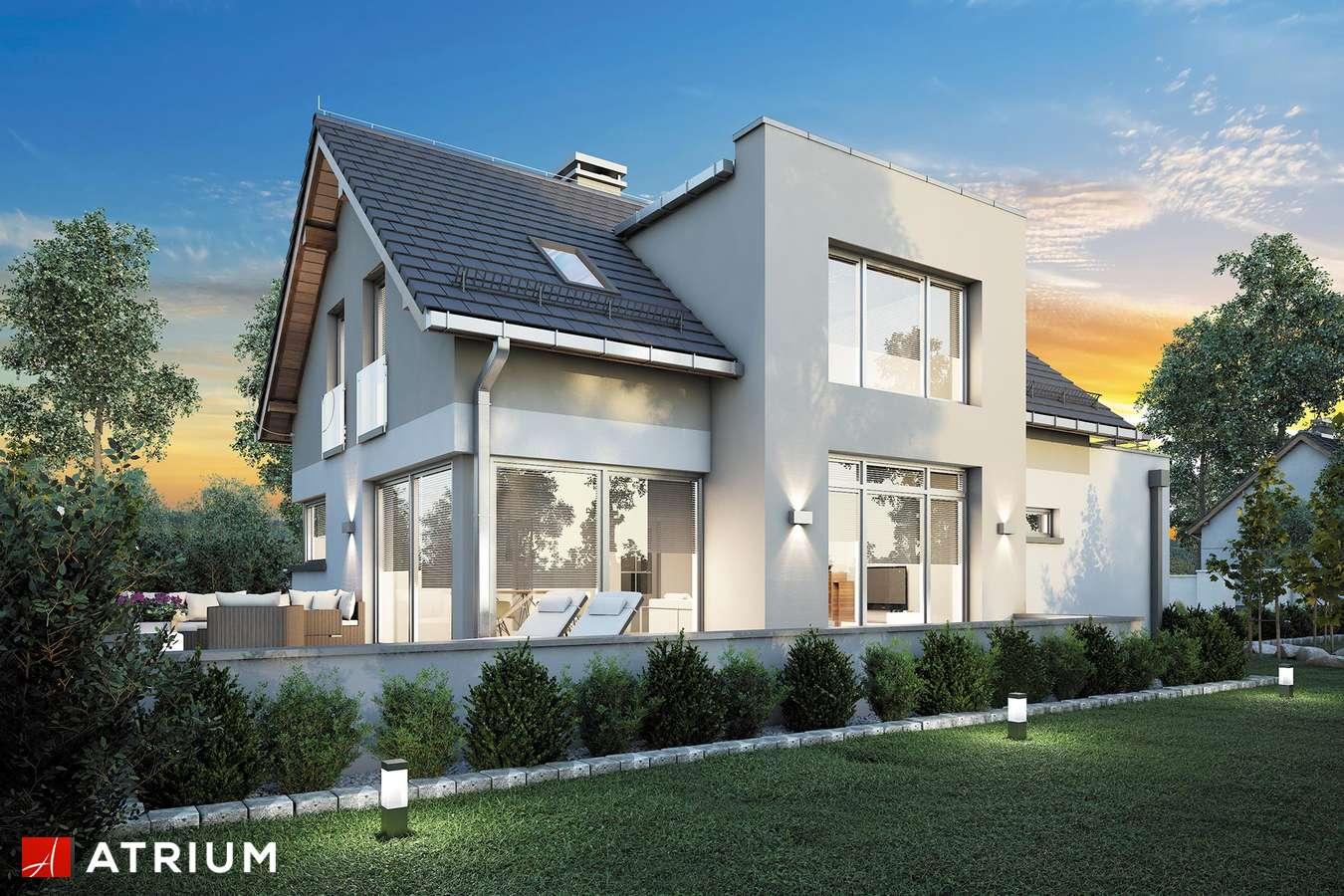 Projekty domów - Projekt domu z poddaszem TWIST II - wizualizacja 2