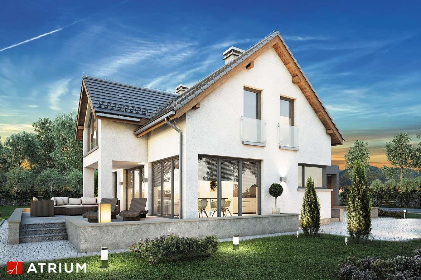Projekty domów - Projekt domu z poddaszem SAMBA II BIS - wizualizacja 1