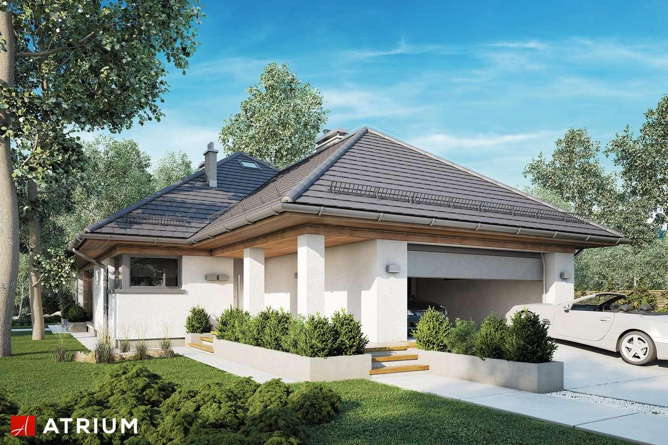 Projekty domów - Projekt domu parterowego MORGAN III - wizualizacja 1