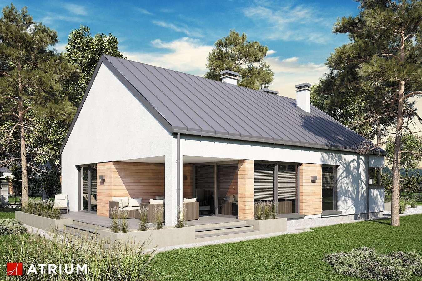 Projekty domów - Projekt domu parterowego PELIKAN SLIM VI - wizualizacja 2
