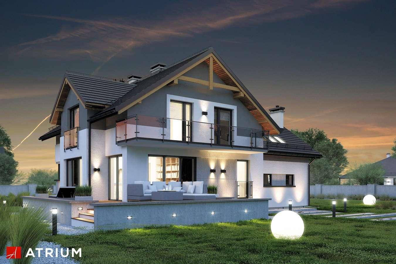 Projekty domów - Projekt domu z poddaszem JUPITER V BIS - wizualizacja 2
