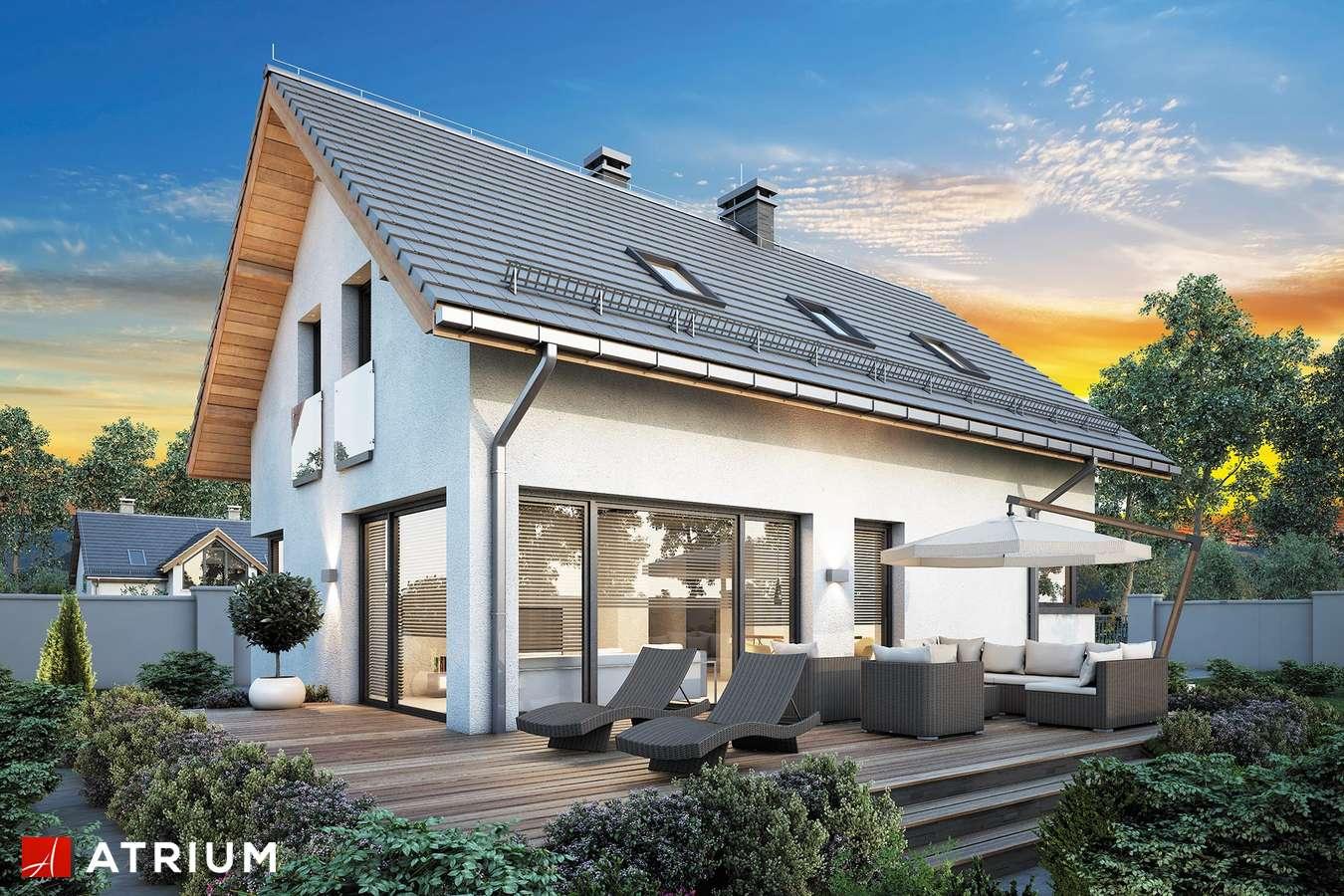 Projekty domów - Projekt domu z poddaszem FELIX IV - wizualizacja 2