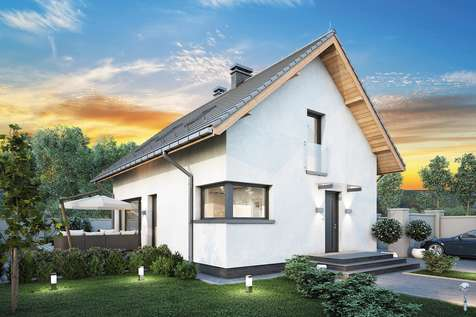 Projekt domu z poddaszem FELIX IV