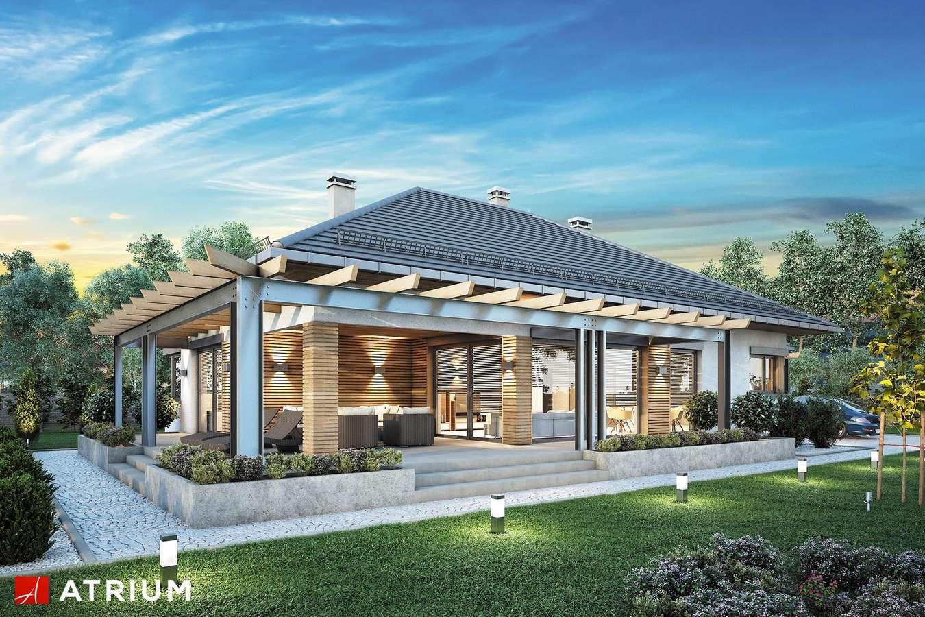 Projekty domów - Projekt domu parterowego MADERA II - wizualizacja 1