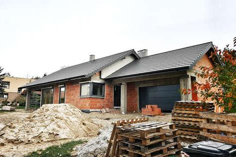 Projekt domu Czajka w budowie
