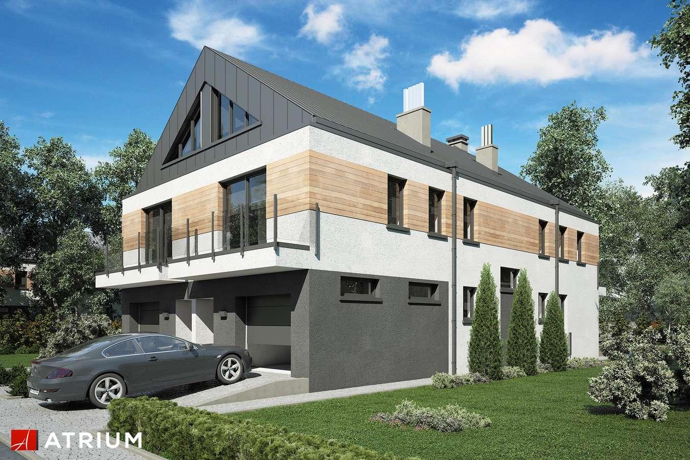 Projekty domów - Projekt domu piętrowego GEMINI - wizualizacja 1
