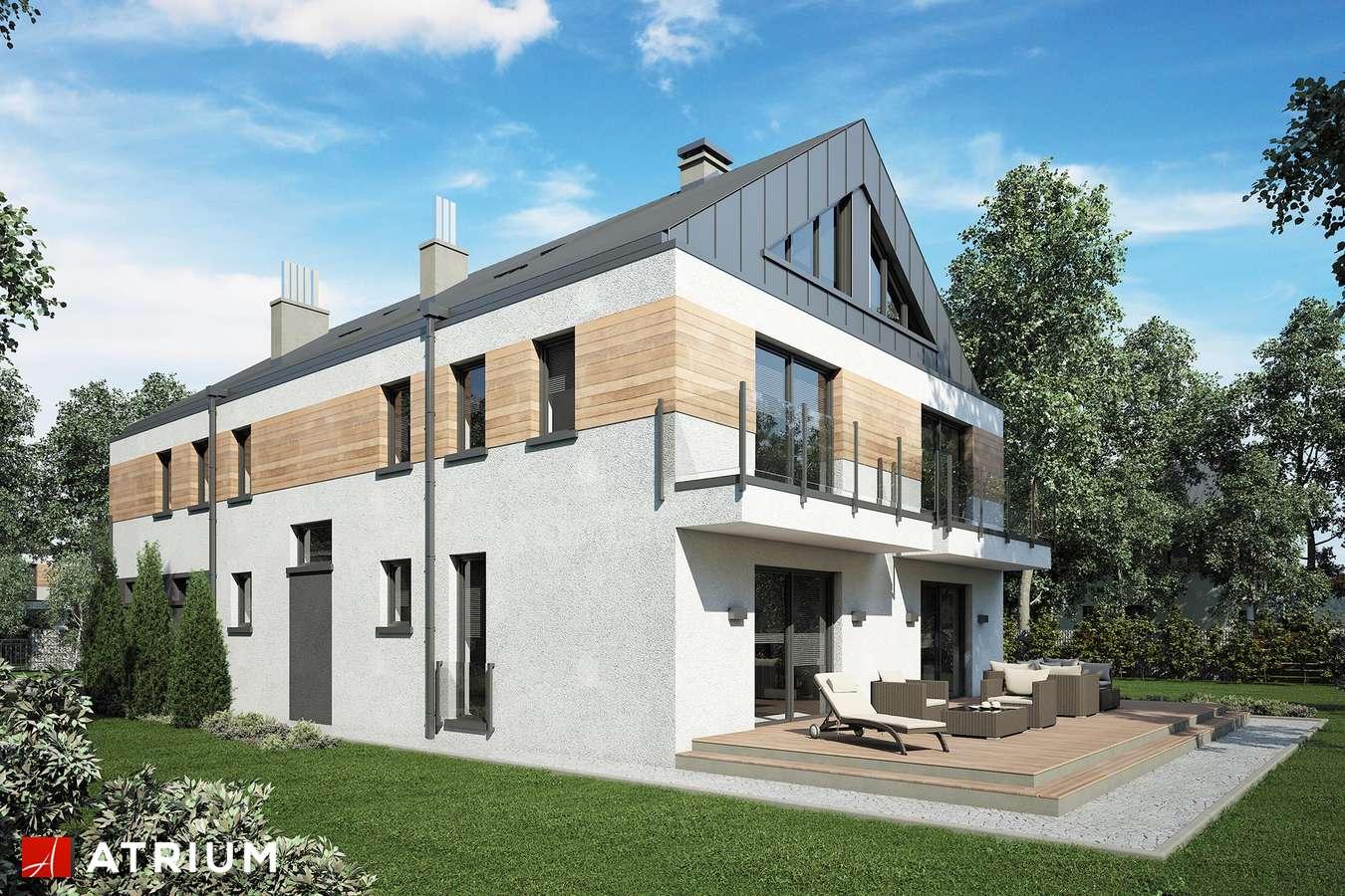 Projekty domów - Projekt domu piętrowego GEMINI - wizualizacja 2