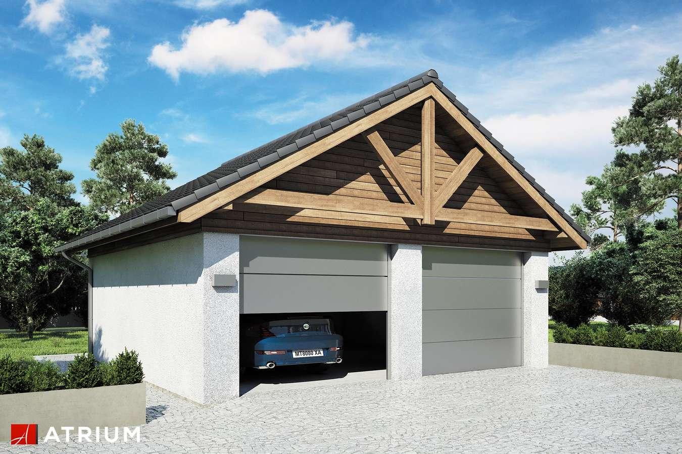 Garaż Z 48 - wizualizacja 1