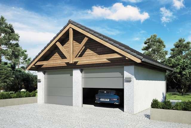Projekt garażu Z 48
