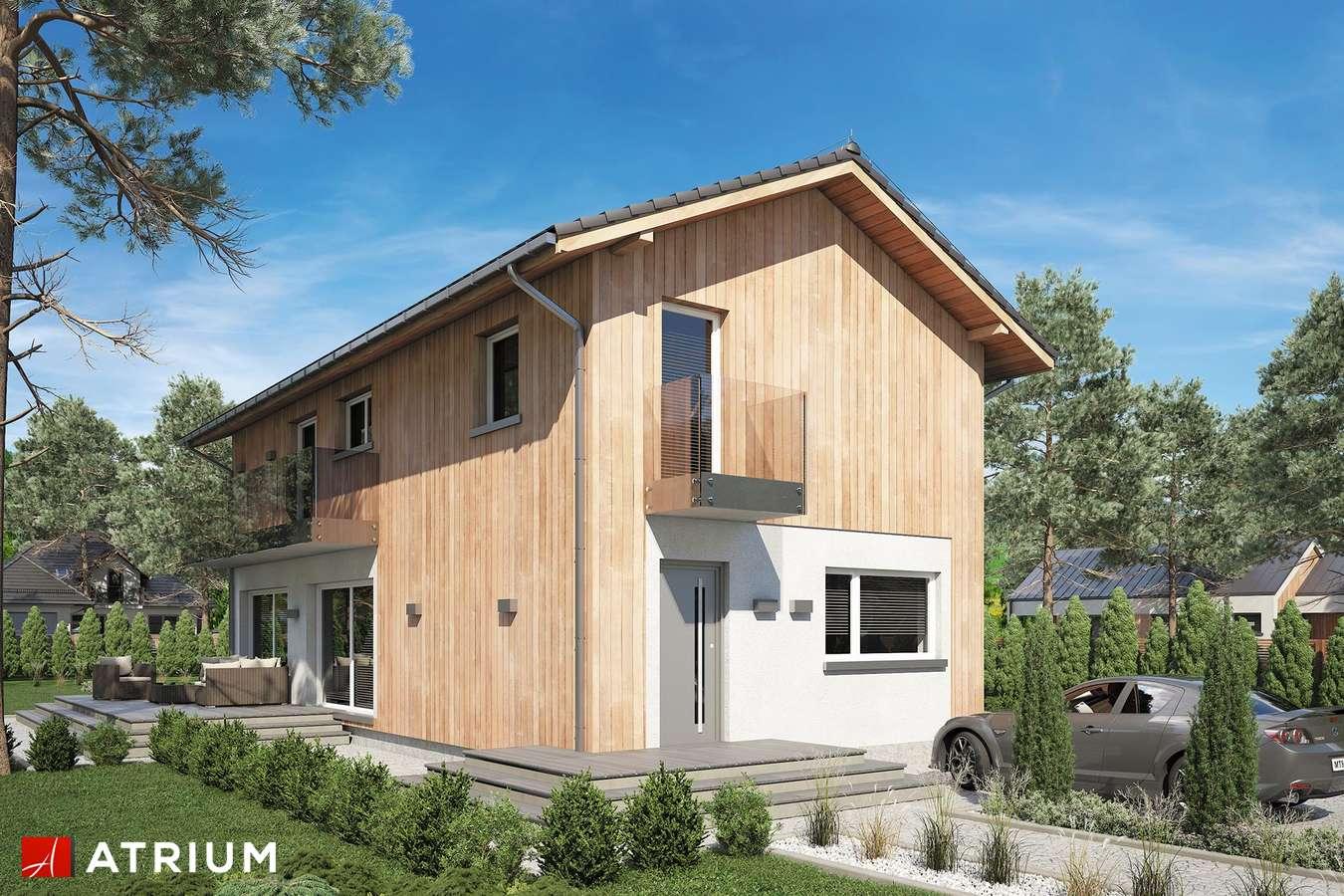 Projekty domów - Projekt domu piętrowego FORTE BIS - wizualizacja 2