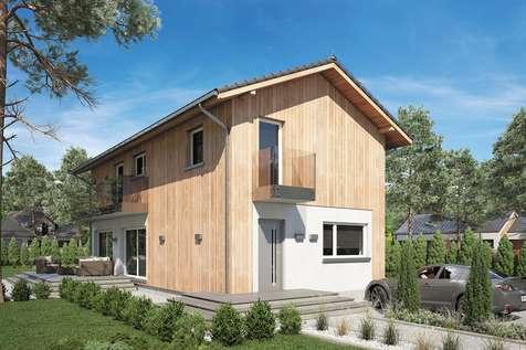 Projekt domu piętrowego FORTE BIS - wizualizacja 2
