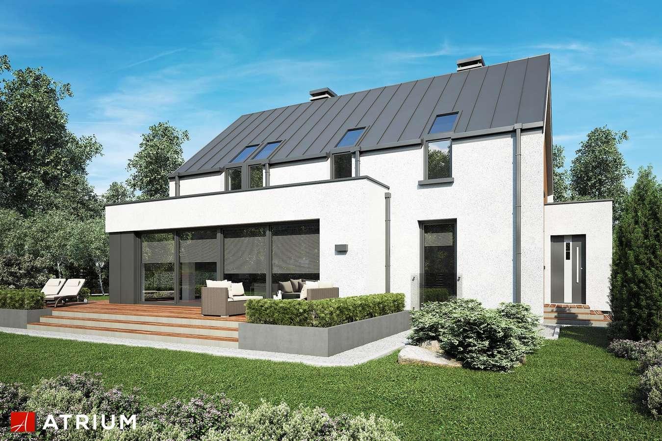 Projekty domów - Projekt domu z poddaszem POLARIS - wizualizacja 2