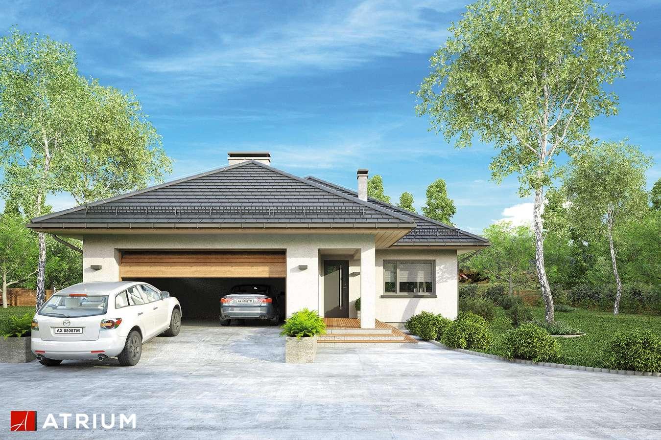 Projekty domów - Projekt domu parterowego OSTOJA PLUS II - wizualizacja 1