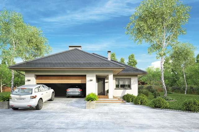 Projekt domu Ostoja Plus II