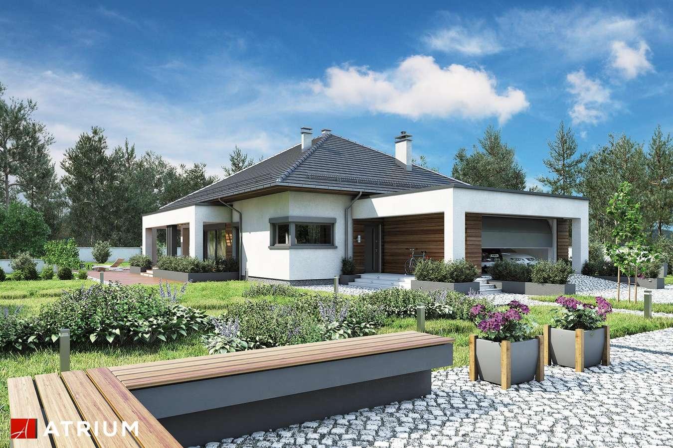 Projekty domów - Projekt domu parterowego SARDYNIA X - wizualizacja 1