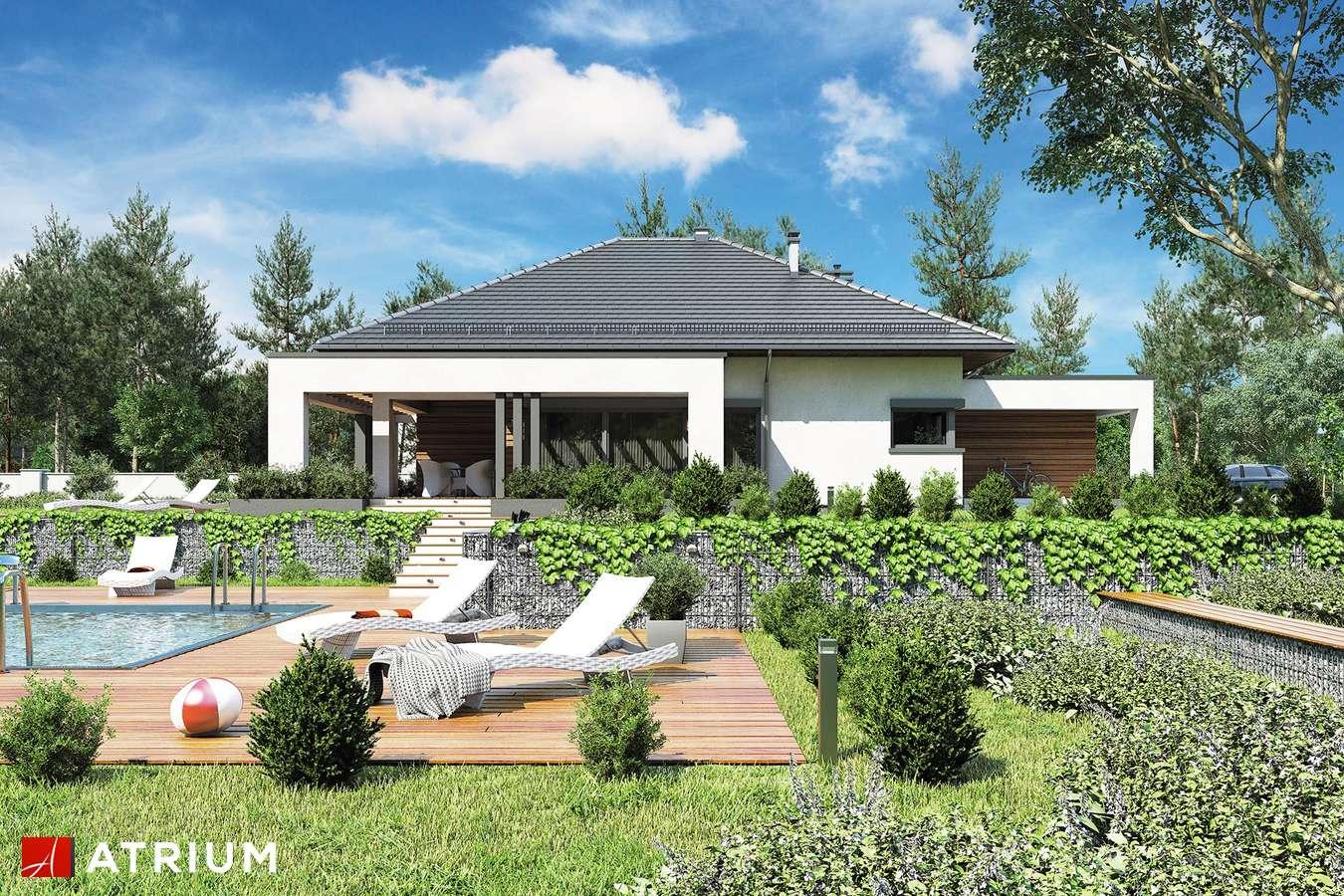 Projekty domów - Projekt domu parterowego SARDYNIA X - wizualizacja 2