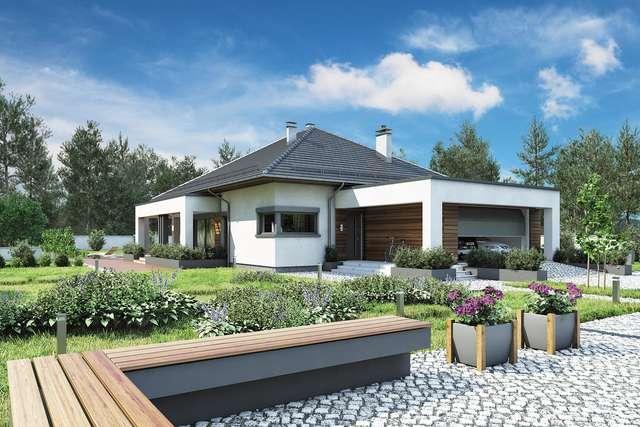 Projekt domu Sardynia X