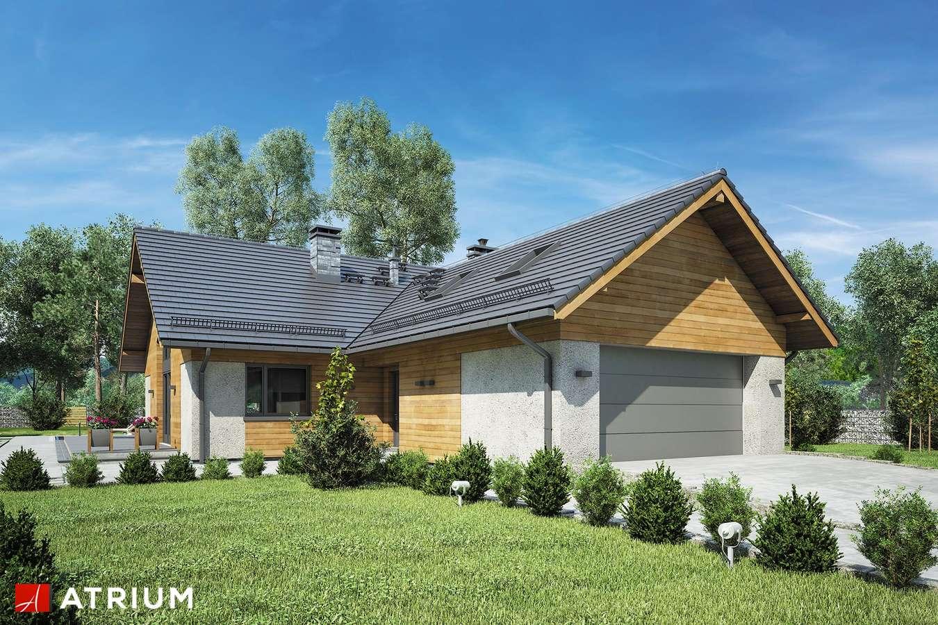 Projekty domów - Projekt domu z poddaszem OXFORD VII - wizualizacja 1