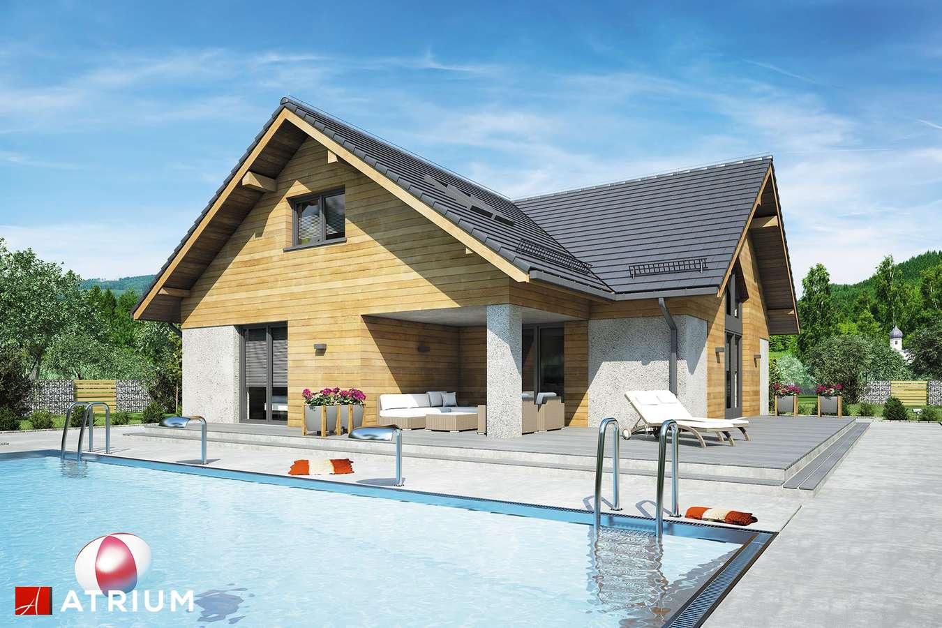 Projekty domów - Projekt domu z poddaszem OXFORD VII - wizualizacja 2