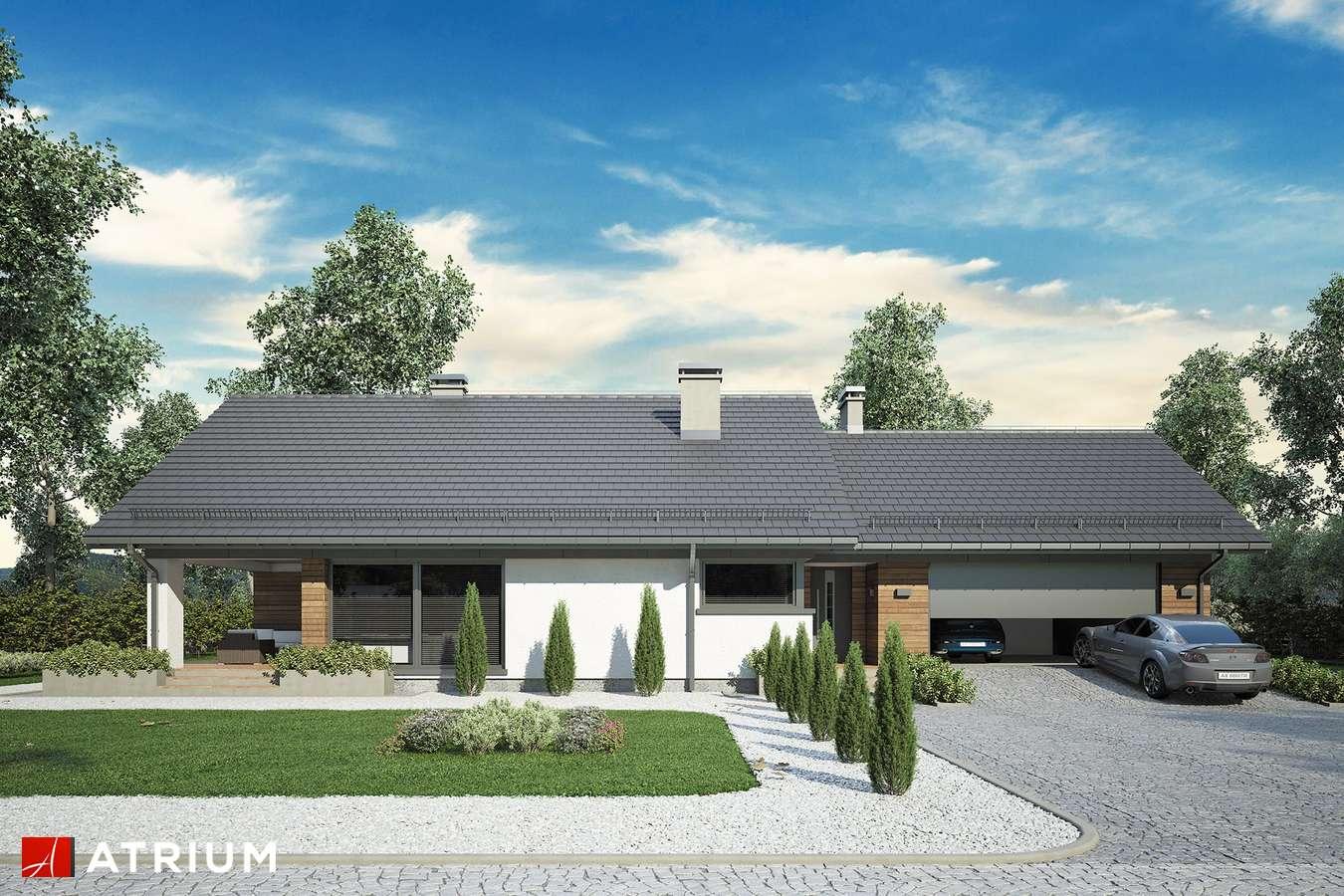 Projekty domów - Projekt domu z poddaszem KOS MINI - wizualizacja 1