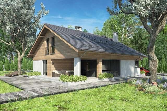 Projekt domu Kos Plus III