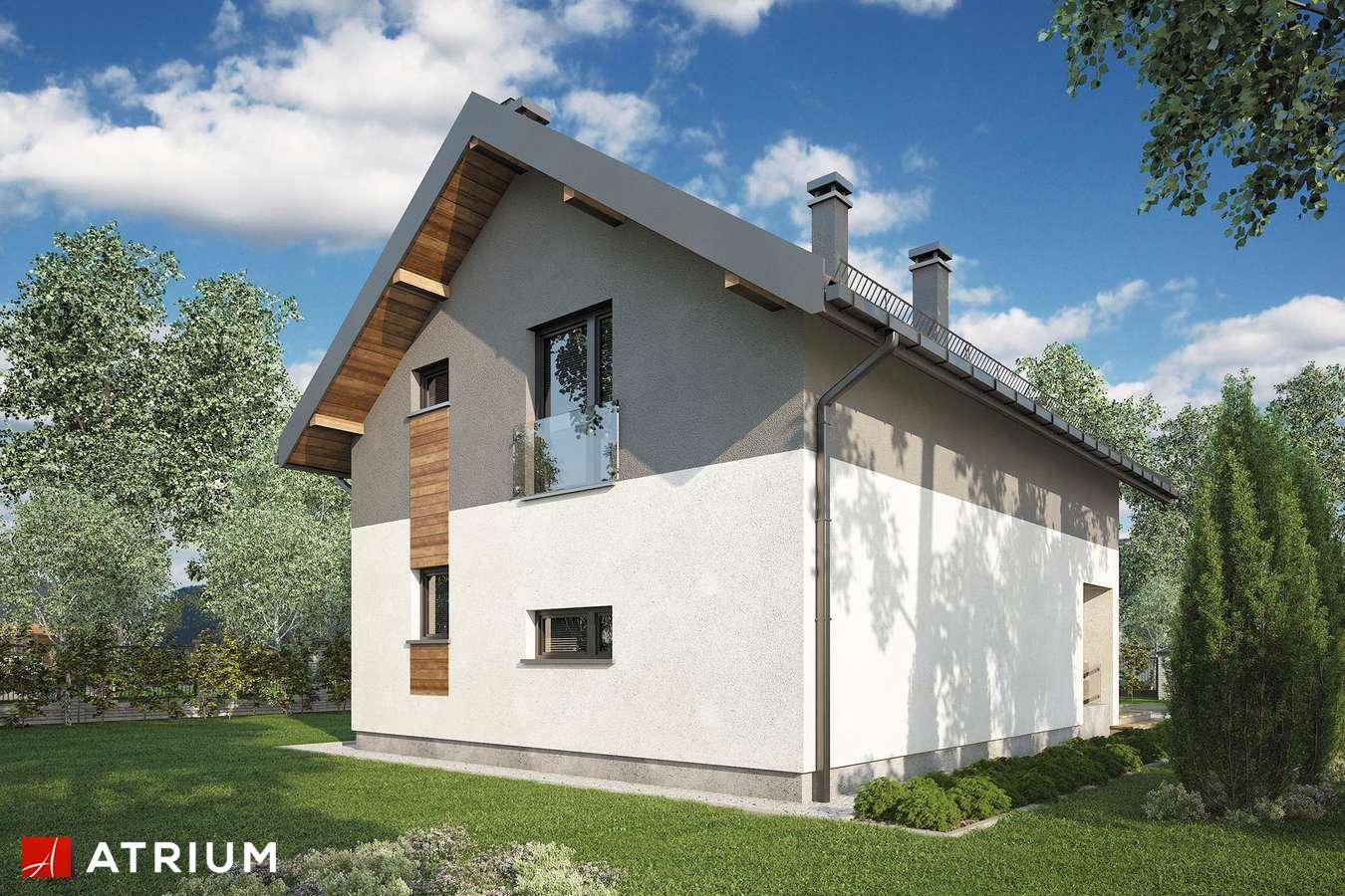 Projekty domów - Projekt domu z poddaszem BERGAMO - wizualizacja 2
