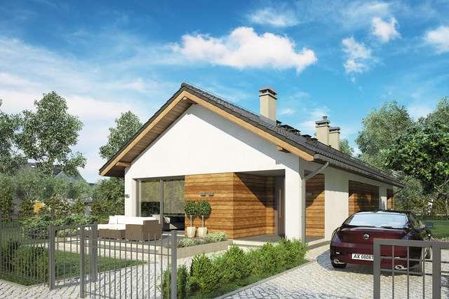 Projekt domu Olimp