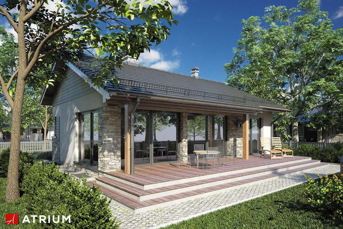 Projekty domów - Projekt domu parterowego RICARDO PLUS SZ - wizualizacja 2