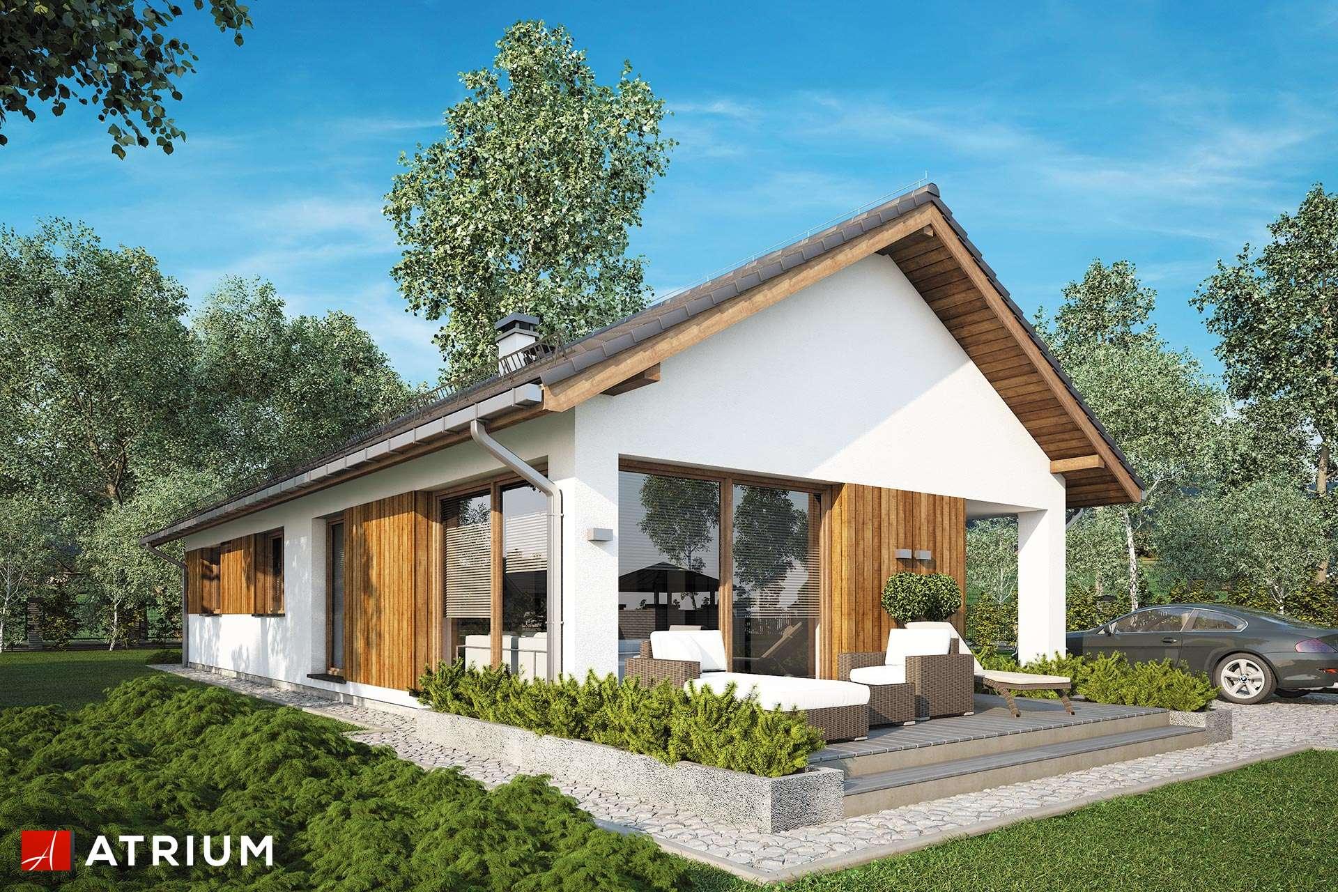 Olimp Ii Parterowy Dom Jednorodzinny Bez Garażu Na Wąską Działkę