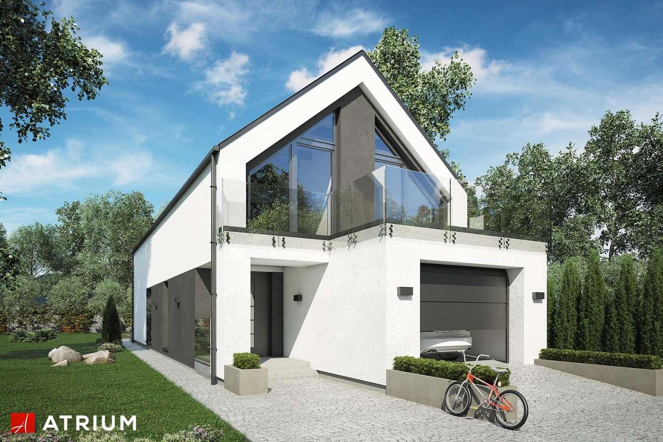Projekty domów - Projekt domu z poddaszem BARI - wizualizacja 1