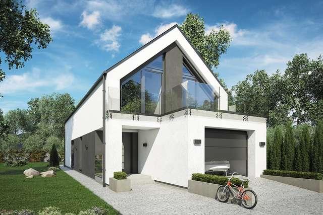 Projekt domu Bari
