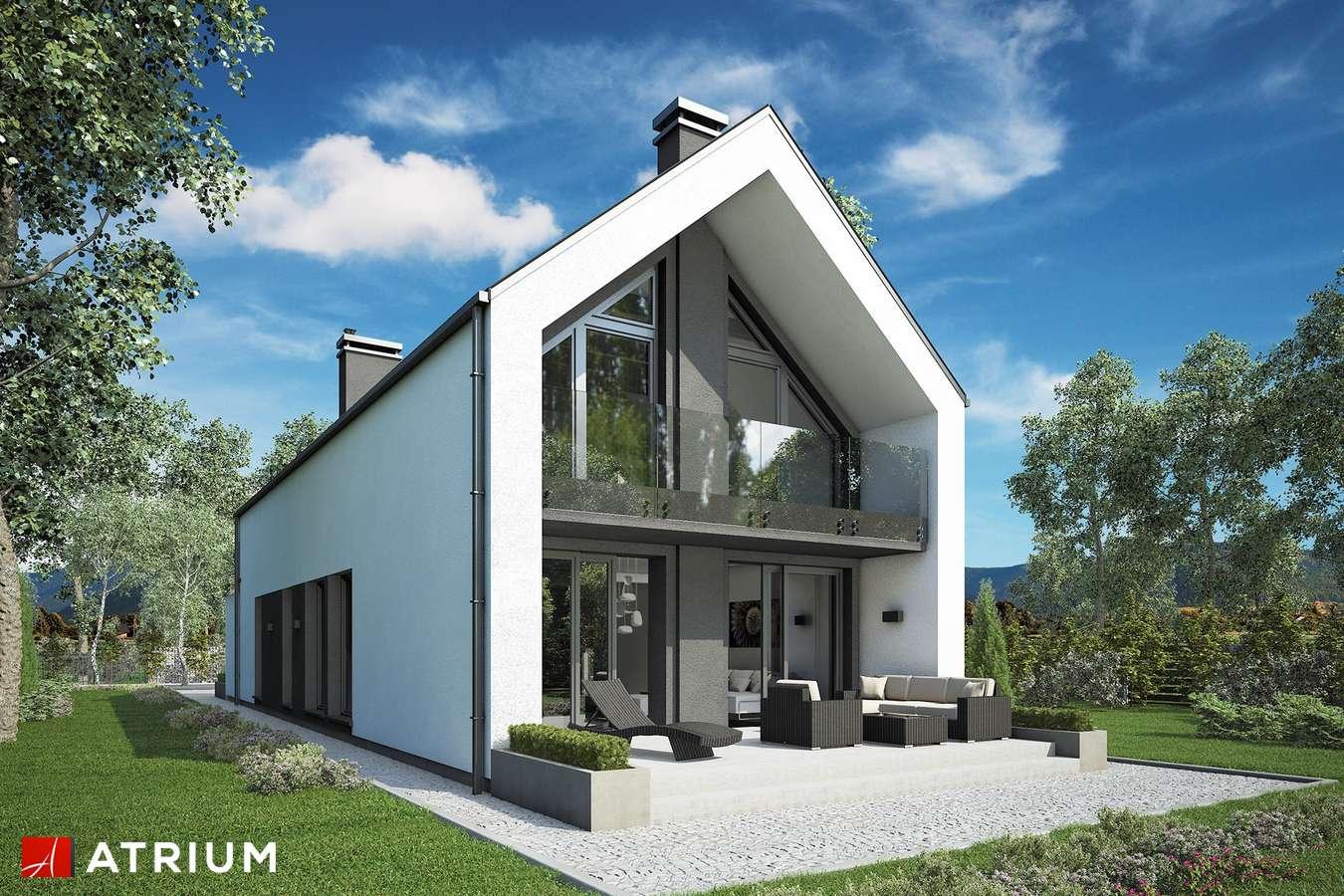 Projekty domów - Projekt domu z poddaszem BARI - wizualizacja 2