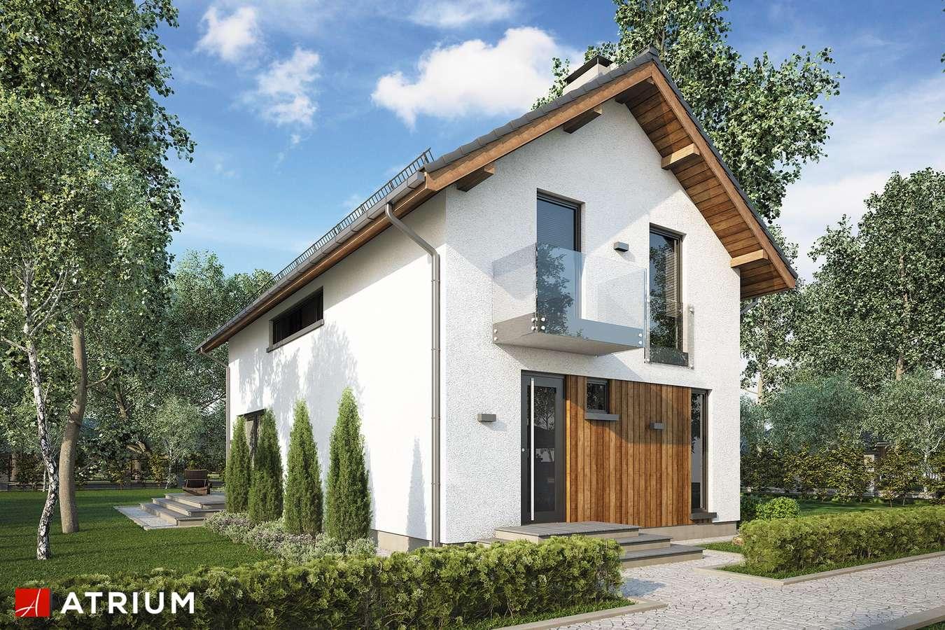 Projekty domów - Projekt domu z poddaszem BRUNO II - wizualizacja 1