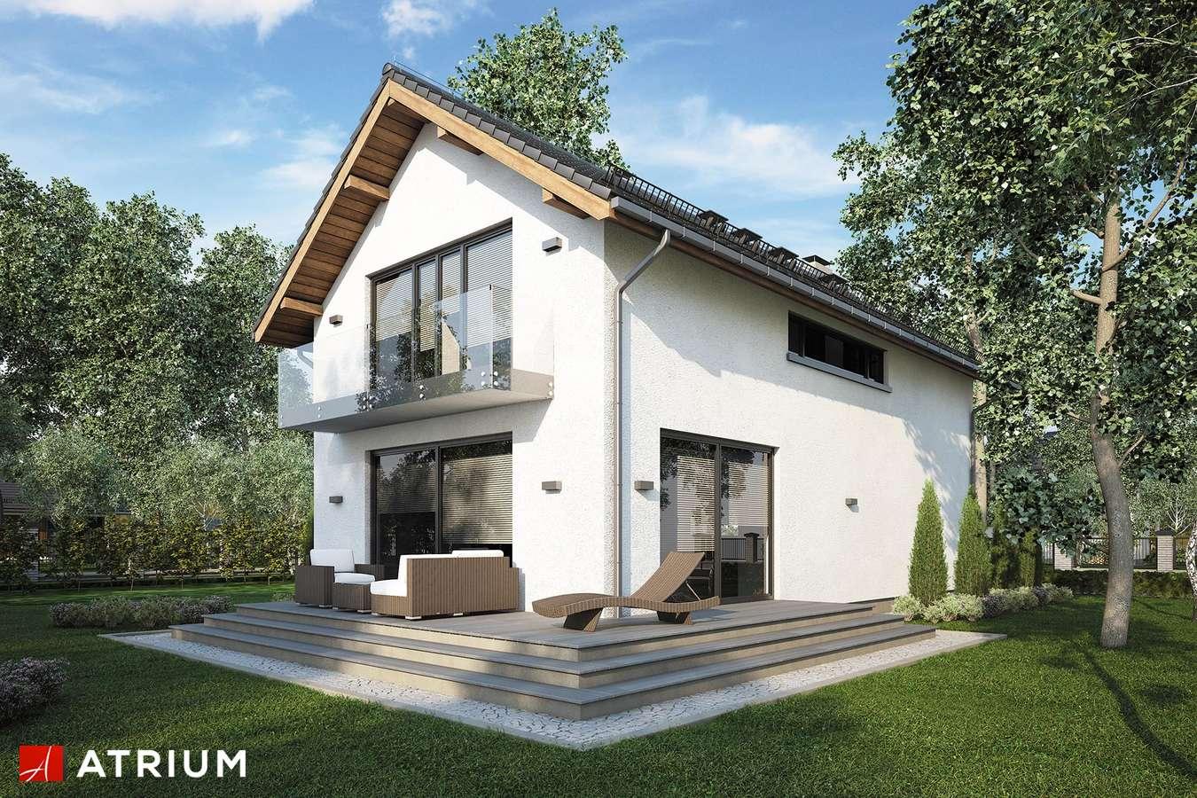 Projekty domów - Projekt domu z poddaszem BRUNO II - wizualizacja 2