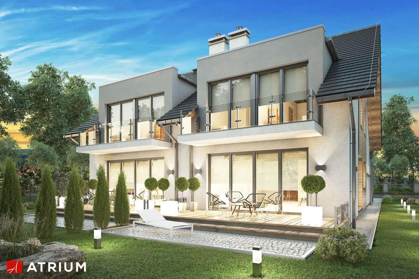 Projekty domów - Projekt domu z poddaszem TANDEM IV - wizualizacja 2