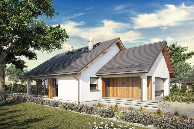 Projekt domu Bursztyn Plus Maxi III