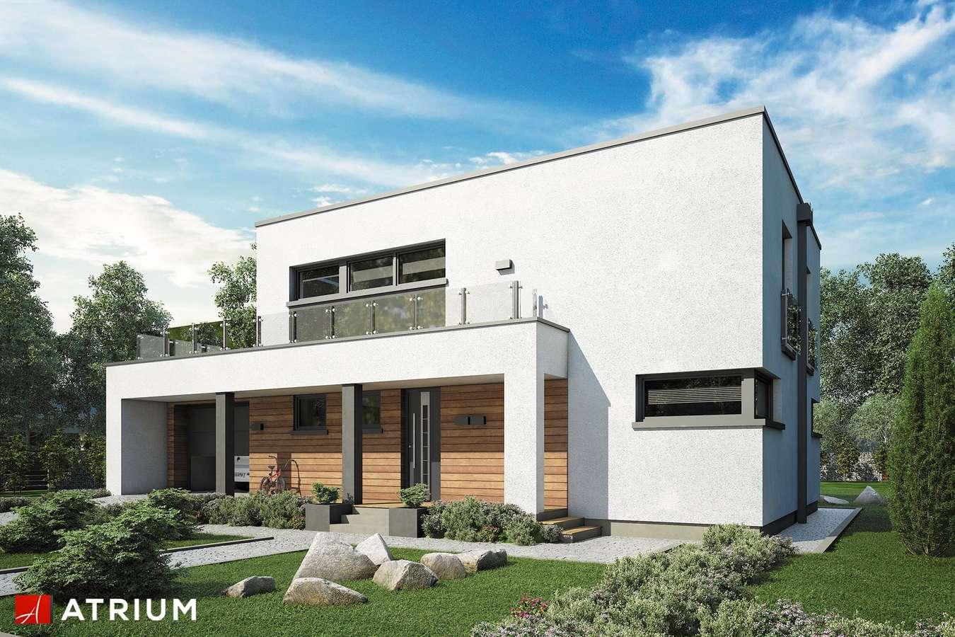 Projekty domów - Projekt domu piętrowego QUBUS IV - wizualizacja 1