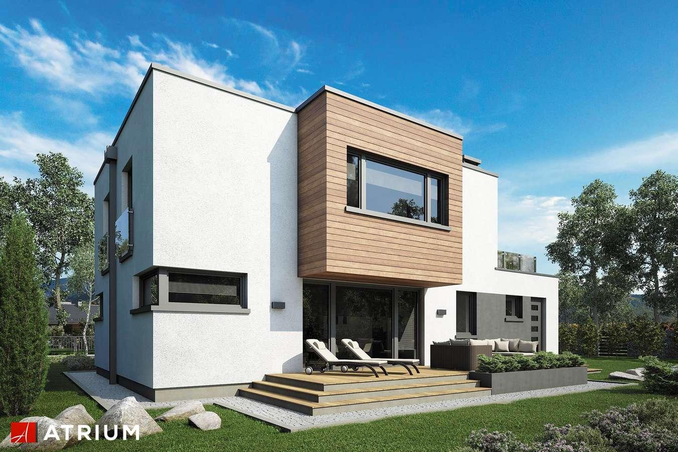 Projekty domów - Projekt domu piętrowego QUBUS IV - wizualizacja 2
