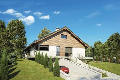 Projekt domu z poddaszem RYś II