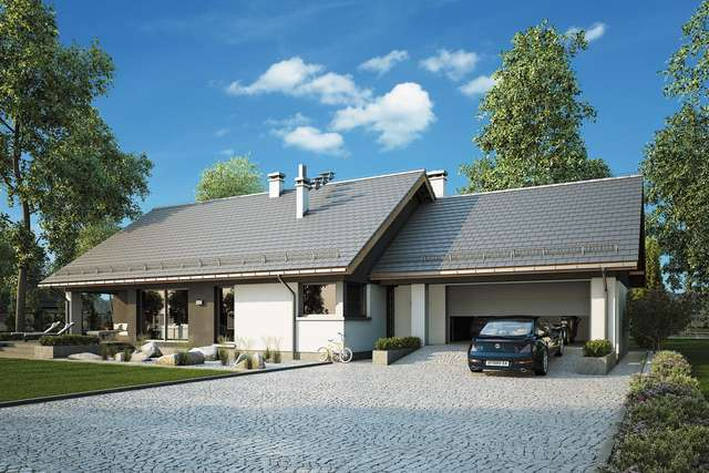 Projekt domu Czajka II Sz