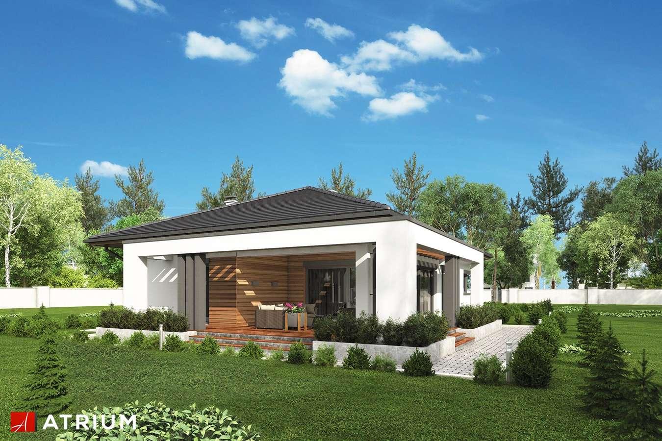 Projekty domów - Projekt domu parterowego SARDYNIA XI - wizualizacja 2