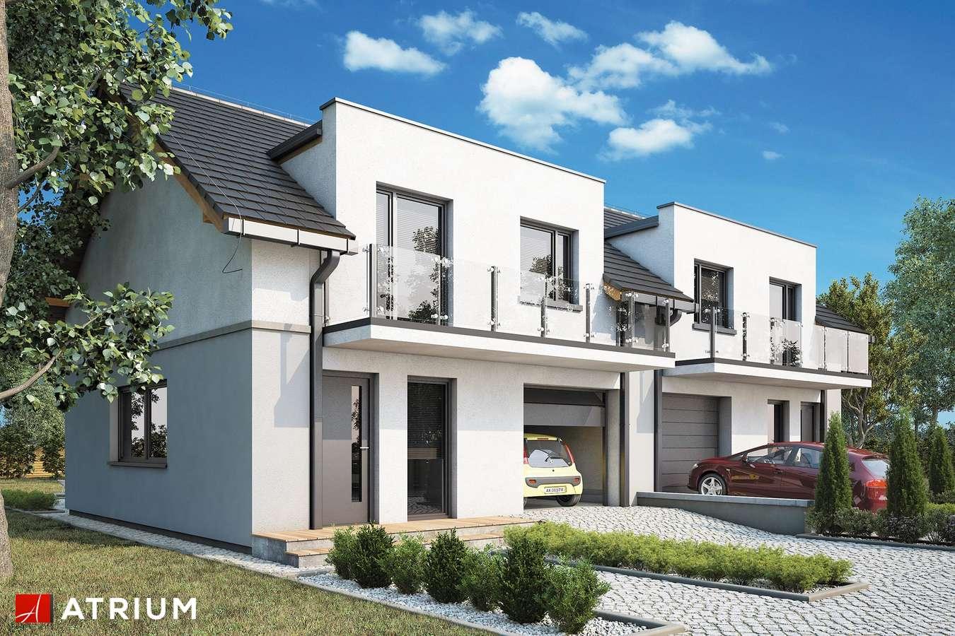 Projekty domów - Projekt domu z poddaszem DOUBLE HOUSE IV - wizualizacja 1