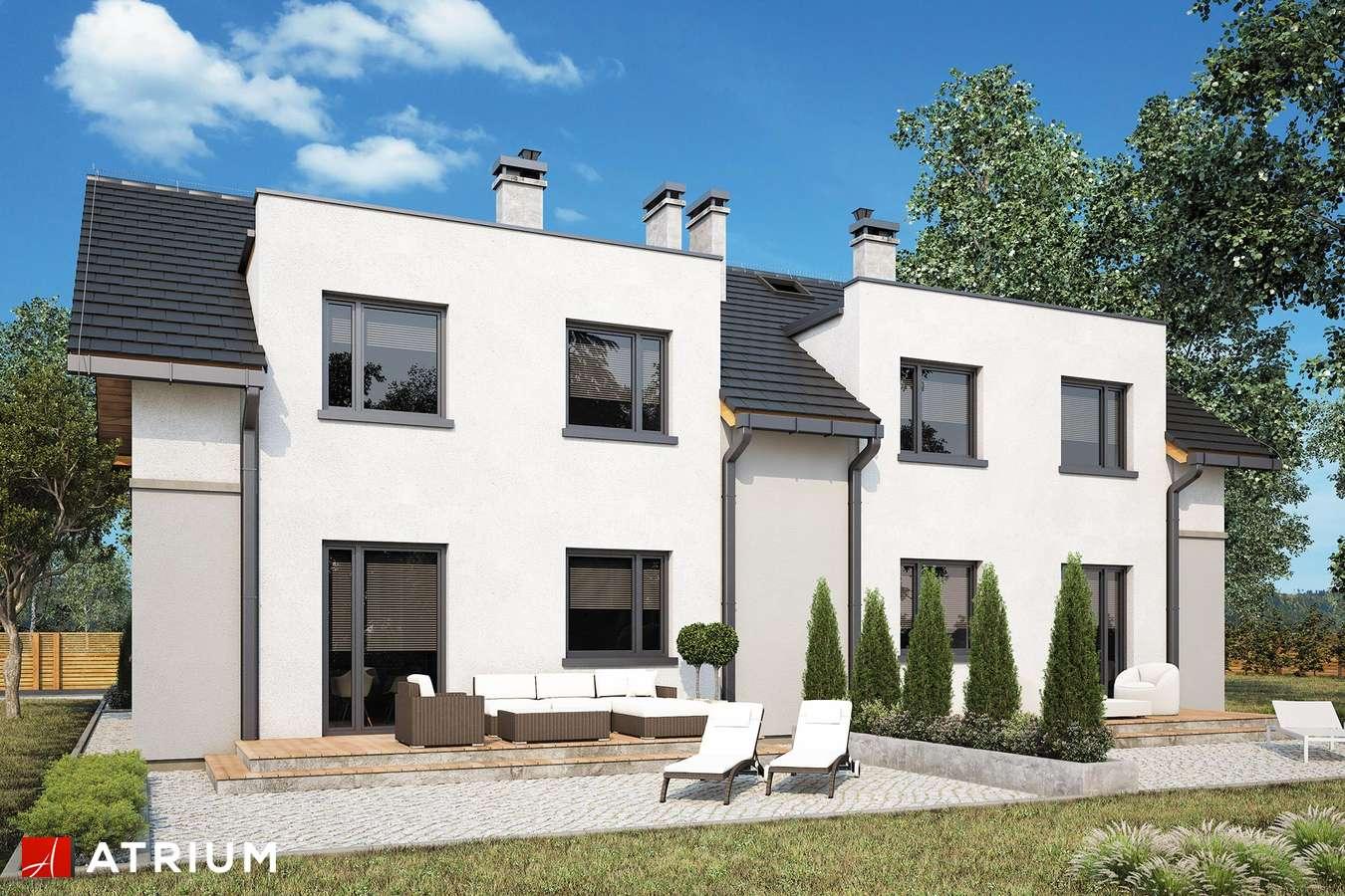 Projekty domów - Projekt domu z poddaszem DOUBLE HOUSE IV - wizualizacja 2