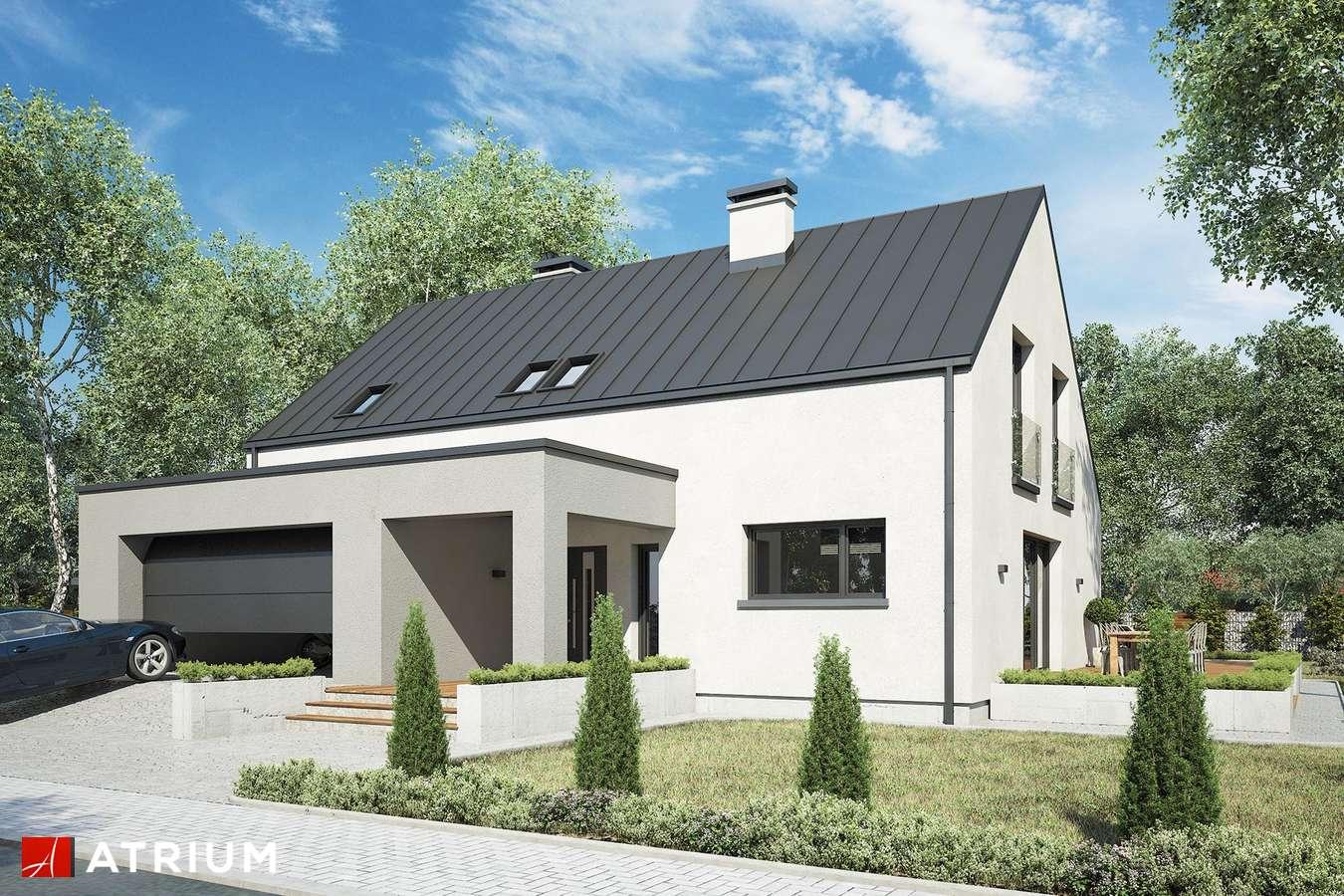 Projekty domów - Projekt domu z poddaszem WILSON II - wizualizacja 1
