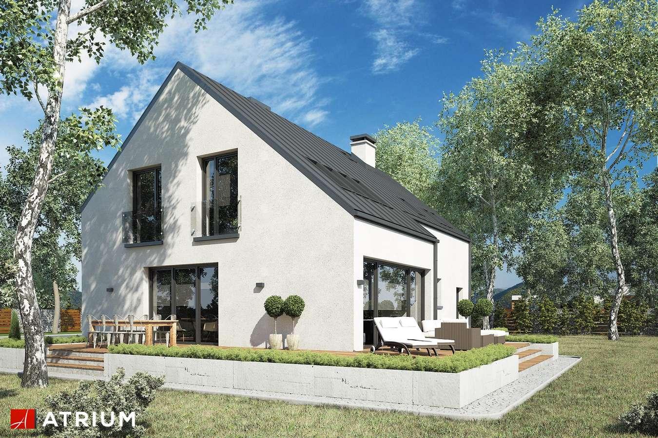 Projekty domów - Projekt domu z poddaszem WILSON II - wizualizacja 2