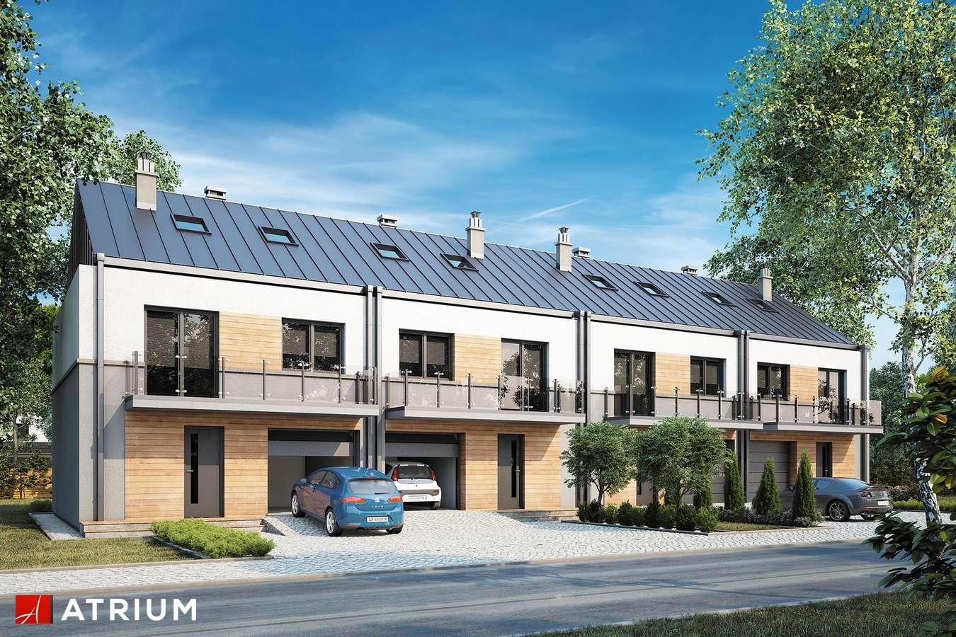 Projekty domów - Projekt domu piętrowego TORINO - wizualizacja 1
