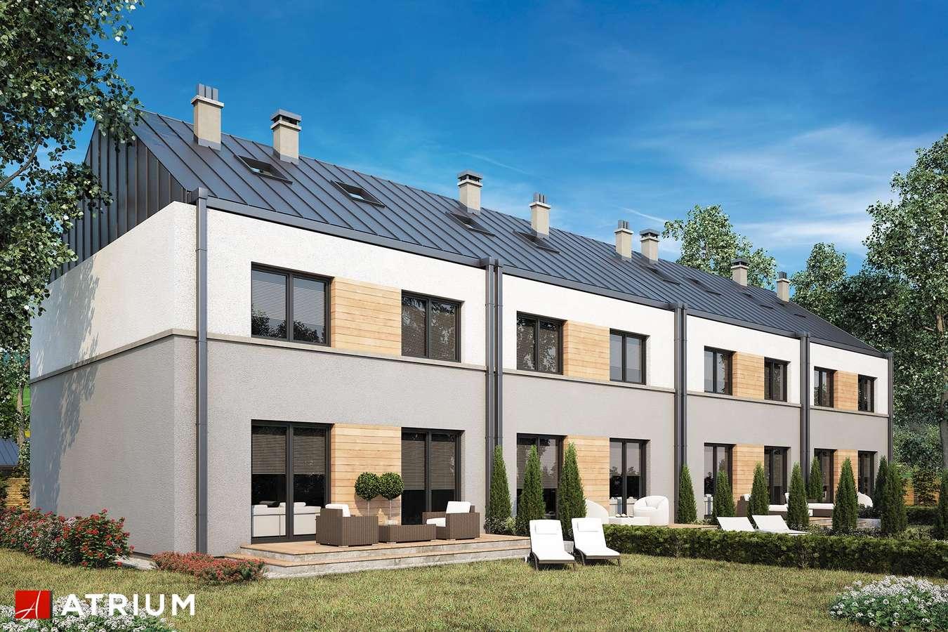 Projekty domów - Projekt domu piętrowego TORINO - wizualizacja 2