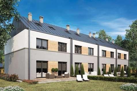 Projekt domu piętrowego TORINO - wizualizacja 2