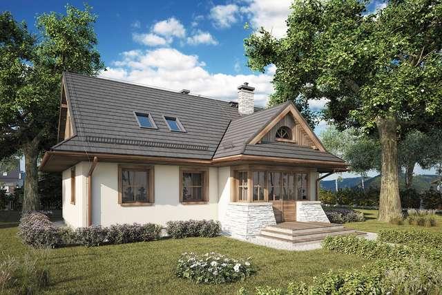 Projekt domu Magurka