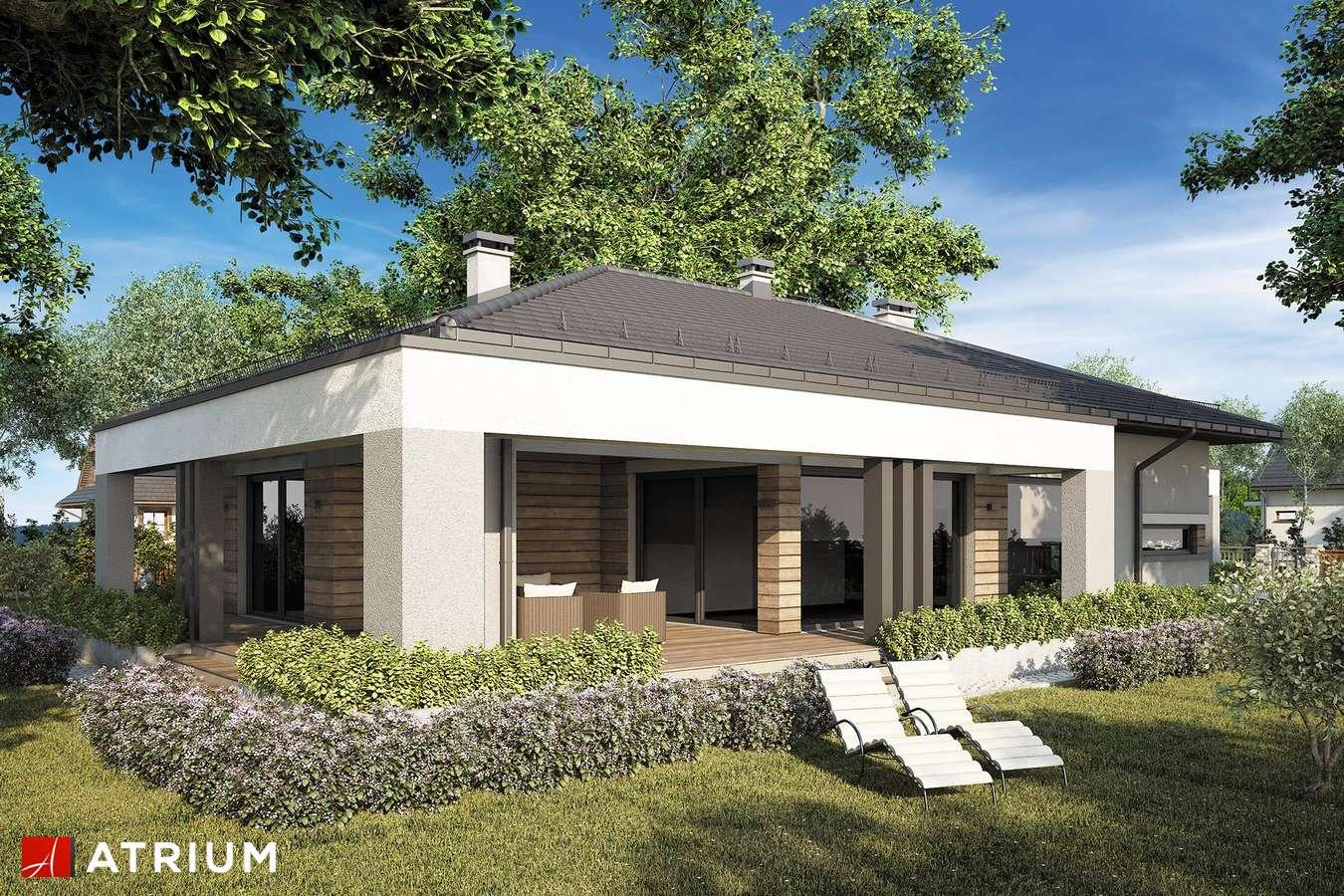Projekty domów - Projekt domu parterowego SARDYNIA XII - wizualizacja 2